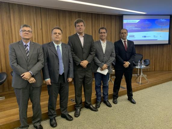 Mesa redonda 1: Perspectivas para a geração Heoliotérmica brasileira.