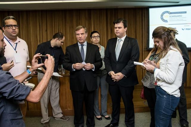 Carlos Otavio Quintella, Diretor Executivo FGV e Fernando Coelho Filho, Ministro de Minas e Energia