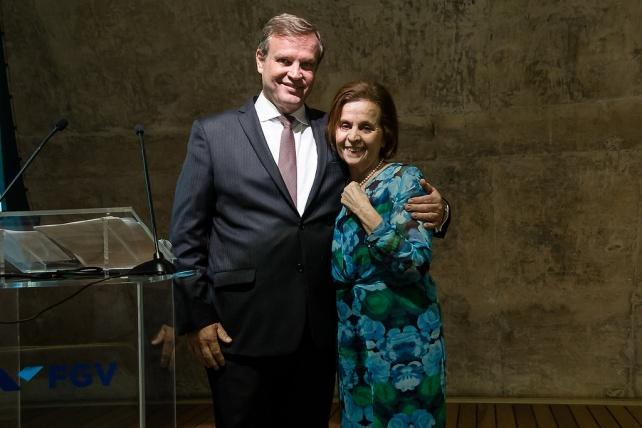 Carlos Otavio Quintella, Diretor FGV Energia e Doutora Rosa Célia, Fundadora do Pró Criança Cardíaca
