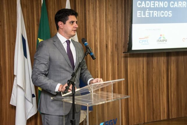 Felipe Gonçalves - Superintendente de Ensino e P&D da FGV Energia - Abertura do evento