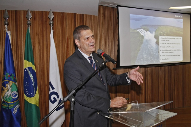 Luiz Fernando Leone Vianna, Diretor-Geral da Itaipu Binacional