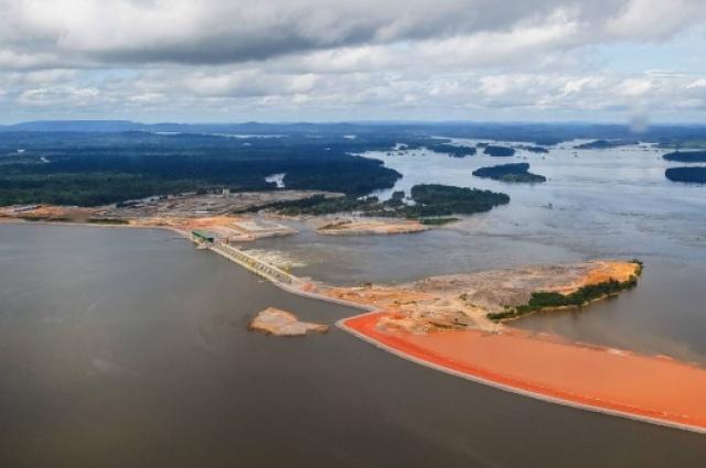 A Usina Hidrelétrica de Belo Monte. RODRIGO STUCKERT