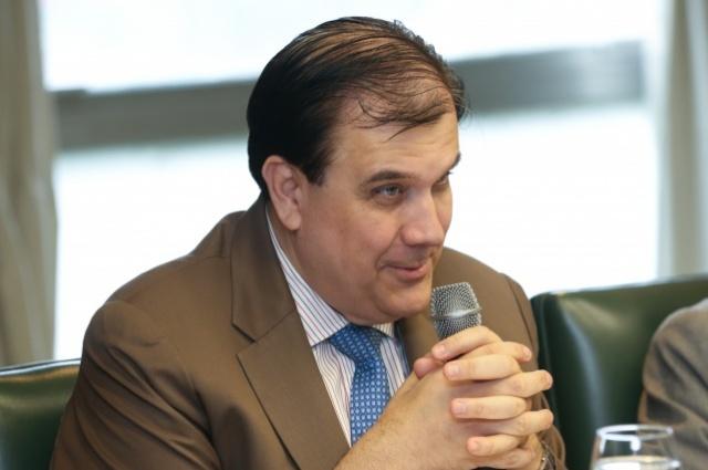 Presidente da Fundação Getúlio Vargas, Professor Carlos Ivan (Foto: Saulo Cruz)