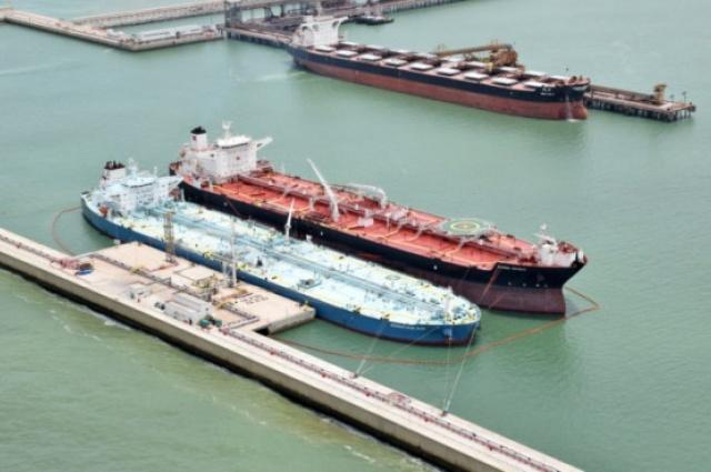 Vista aérea do Porto do Açú: com hub de gás, Prumo quer alcançar relevância no mercado nacional (Foto: Cortesia)