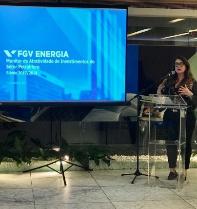 Fernanda Delgado, pesquisadora da FGV Energia
